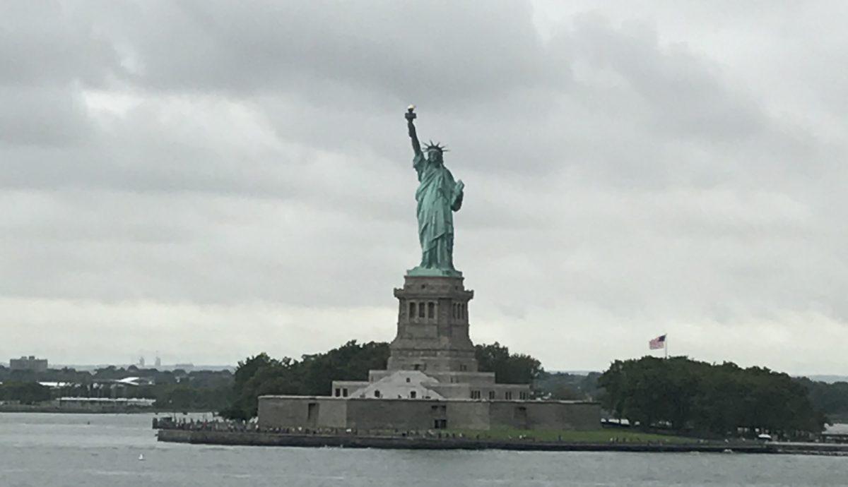 夏休み2017~アメリカ旅行!~ニューヨークpart5~自由の女神とWTC