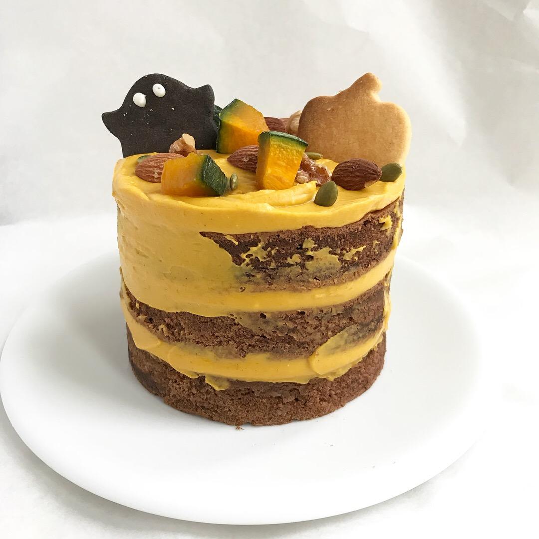 ♪ハロウィンネイキッドケーキの作り方♪~気になるあのケーキの作り方!~