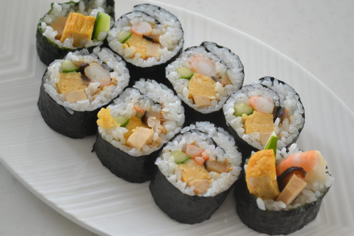 昔ながらの★定番巻き寿司&恵方巻の作り方★
