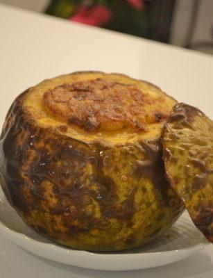 スタッフトパンプキン(かぼちゃの詰め物焼き)
